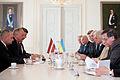 Flickr - Saeima - Latviju oficiālā vizītē apmeklē Ukrainas parlamenta priekšsēdētājs.jpg