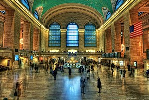 New York Central Railroad - The main concourse of Grand Central Terminal, the New York Central's most notable landmark