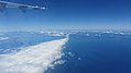 Flight from Rotorua to Queenstown. Over Cook Strait, South Island (482852) (9481632727).jpg
