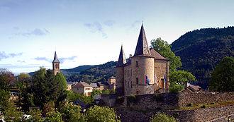 Château de Florac - Image: Florac panorama