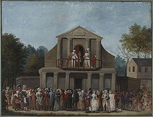 Théâtre de la Gaîté (boulevard du Temple) - Image: Foire saint laurent