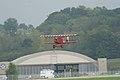 Fokker DVII Ernst Udet Hard Landing 01 Dawn Patrol NMUSAF 26Sept09 (14599910625).jpg