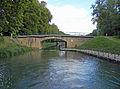 Fontet, Gironde, pont de Fontet sur le canal latéral à la Garonne (3).JPG