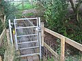 Footbridge near Woodlands Farm - geograph.org.uk - 1438113.jpg
