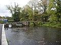 Footbridge over the River Kensey - geograph.org.uk - 1558053.jpg