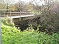 Footbridge over the river Kenwater - geograph.org.uk - 641556.jpg