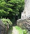 Footpath - Upper Brow Road, Paddock - geograph.org.uk - 921705.jpg