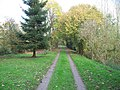 Footpath crosses dismantled railway - geograph.org.uk - 1563604.jpg