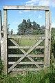 Footpath gate near Mapledurham, Oxfordshire - geograph.org.uk - 856916.jpg