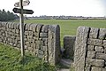 Footpath junction and stile near Hippins - geograph.org.uk - 430609.jpg