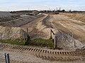 Footpath through gravel pit, Badminston - geograph.org.uk - 332742.jpg