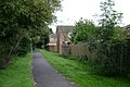 Footpath to the rear of Kettlewell Close, Woodloes Park - geograph.org.uk - 1448304.jpg