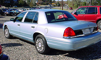 Ford Crown Victoria - Extended Wheelbase Crown Victoria (US Spec)