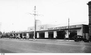 Dalgety plc - Ford dealership, Adelaide 1937