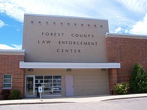 Forest County, Wisconsin - Image: Forest County Law Enforcement Center