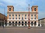 Forlì, piazza aurelio saffi, poste e telegrafi 02.jpg