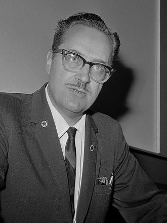 Forrest J Ackerman - Ackerman in 1965