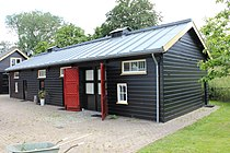 Fort aan de Klop, houten opslagloods Rijksmonument 514437.JPG