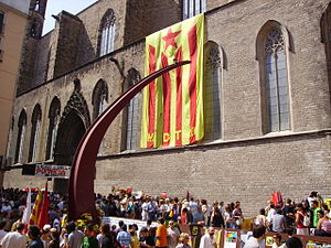 Fossar de les Moreres - National Day of Catalonia, 2006