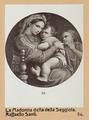 """Fotografi av """"Madonna della Seggiola"""" av Rafael - Hallwylska museet - 103002.tif"""
