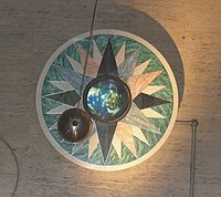 Foucault pendulum at the Franklin Institute (Philadelphia)
