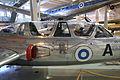Fouga CM 170 Magister (FM-45) Keski-Suomen ilmailumuseo 6.JPG