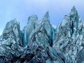 Serac - Fox Glacier, New Zealand
