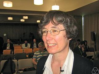 Frances Kirwan British mathematician