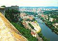Francia. Vista del río Doubs desde las murallas de la Ciudadela de Besanzón (Franco Condado). - panoramio.jpg