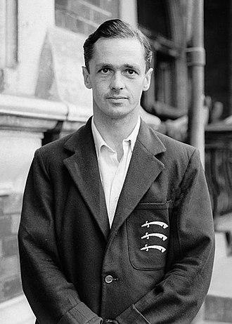 George Mann (cricketer) - Mann in 1947