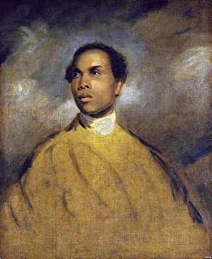 Francis Barber - Portrait possibly of Francis Barber, attributed either to James Northcote or Sir Joshua Reynolds (see below), 1770s