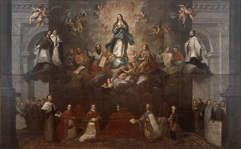 Francisco Antonio Vallejo - Glorification of the Immaculate Conception - Google Art Project