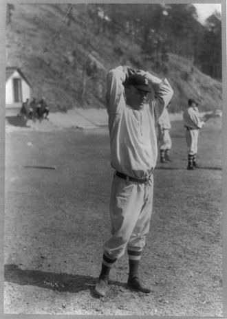 Frank Allen (baseball) - Allen in Brooklyn uniform