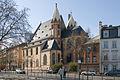 Frankfurt Am Main-Leonhardskirche-Ansicht vom Mainkai-Gegenwart.jpg