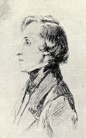 crayon : Chopin