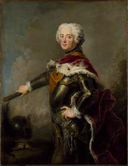 Portrait of Fredrik II, 1712-1786