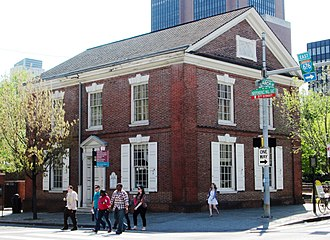 Independence Mall (Philadelphia) - Image: Free Quaker Meeting House from northeast