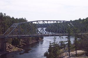 Ontario Highway 69 - Highway 69 bridge over the French River