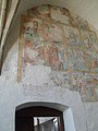 Fresky umučení sv. Kateřiny v zámeckém kostele z poloviny 15. století jako památka na knížete Boleslava II.jpg