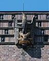 Friedhof Ohlsdorf (Hamburg-Ohlsdorf).Neues Krematorium.Bauschmuck.Kuöhl.Vogel Phönix.3.29622.ajb.jpg