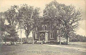 Fryeburg, Maine - Image: Fryeburg Academy, Fryeburg, ME