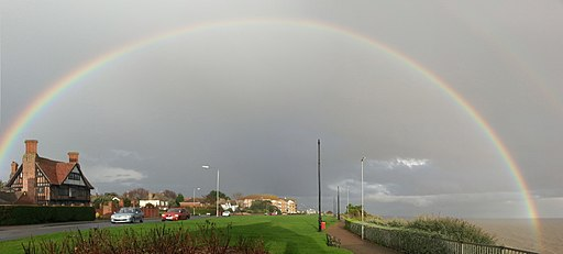 Full Rainbow in november essex