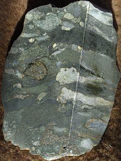 Tectonite rock type