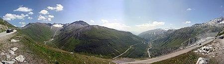 Furka Passhöhe 2005-07-17