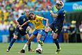 Futebol feminino olímpico- Brasil e Suécia no Maracanã (28746917250).jpg