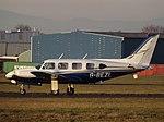 G-BEZL Piper Navajo 31 2Excel Aviation Ltd (30637044273).jpg