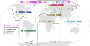 Unified combatant command - Wikipedia