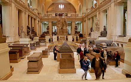 Interior of the Egyptian Museum. GD-EG-Caire-Musee007.JPG