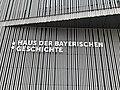 GER — BY — Regensburg - Donaumarkt 1 (Museum der Bayerischen Geschichte; Schriftzug an der Fassade).JPG
