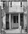 GROUND FLOOR ENTRY, SOUTH SIDE - William Blacklock House, 18 Bull Street, Charleston, Charleston County, SC HABS SC,10-CHAR,130-15.tif